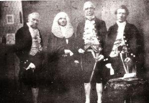 Seaford deputation in London 1858