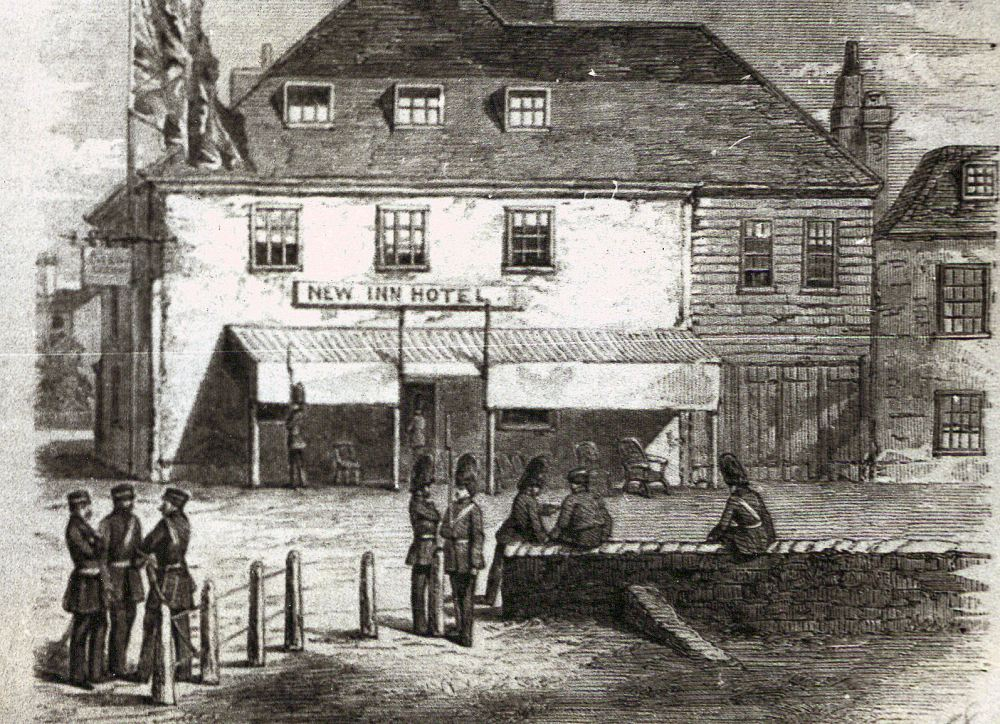 HAC HQ 1858 New Inn