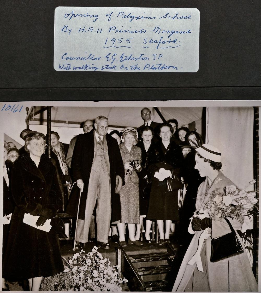 1955 Princess Margaret Pilgrims Etherton