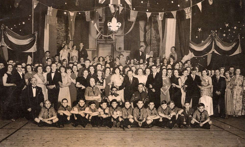 1st Seaford Scout Dance - Queens hall 1938